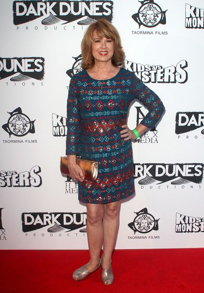Actress Lee Purcell attends the premiere of Marvista Entertainment's 'Kids Vs Monsters' at The Egyptian Theatre on September 28 2015 in Los Angeles...