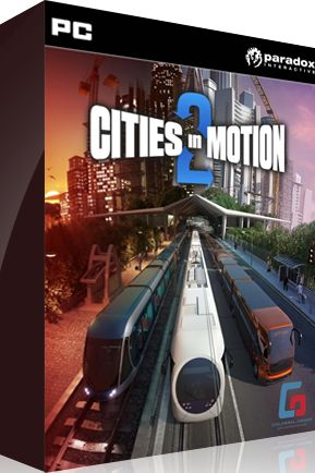 CD keye  Cities in Motion 2