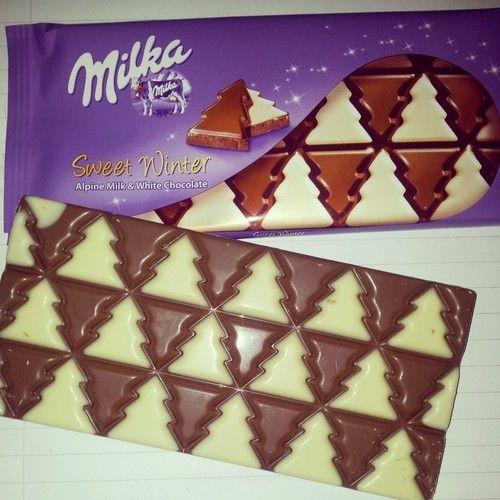Milka chocolate!