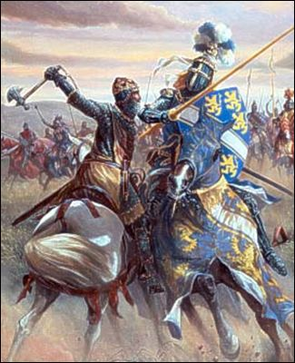 Battle of Muret - September 12, 1213: in which the French nobleman Simon IV de Montfort defeated Raymond VI of Toulouse and King Pedro II of Aragon in a major battle of the Albigensian Crusade against the Cathars. Peter's death - a famous crusader who had faced the Muslims in Spain-was detrimental to the Cathar cause.