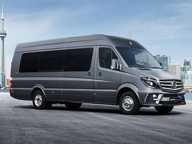 This Mercedes-Benz Sprinter By Brabus Is The Most Luxurious Thing We've Ever Seen