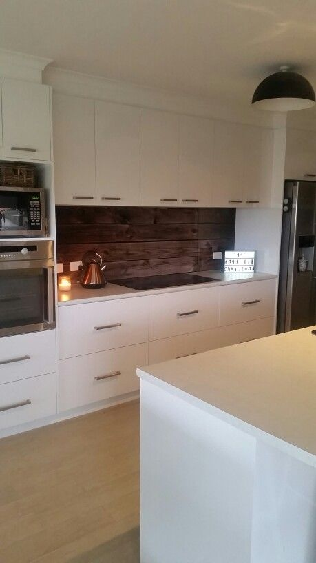 Kitchen Reno #splashback #softclose #drawers #copperkettle  #lovelovelove