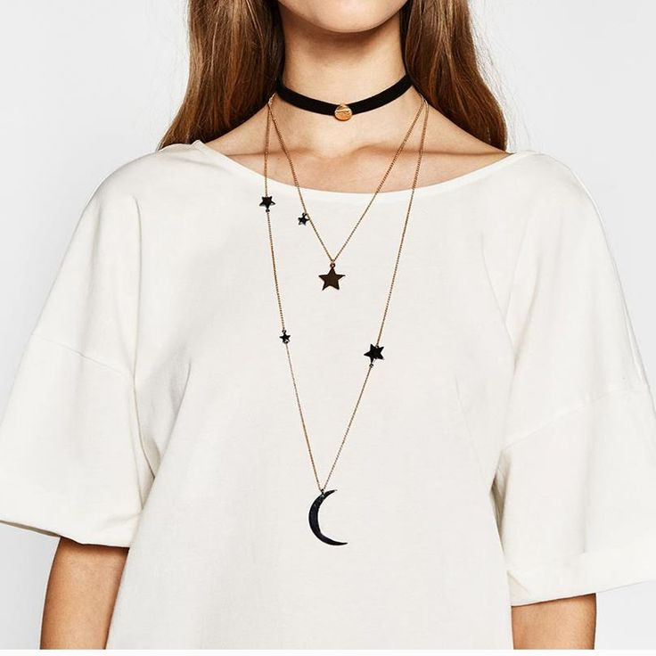 Boho Multilayer Collar Choker Ribbon Moon&Star Bib Simple Statement Fashion Gothic Neck Burlesque Necklace 3597 That`s just superb!Get it here --->  http://www.jewelrydue.com/product/ladyfirst-2016-boho-multilayer-collar-choker-ribbon-moonstar-bib-simple-statement-fashion-gothic-neck-burlesque-necklace-3597/ #shop #beauty #Woman's fashion #Products #homemade