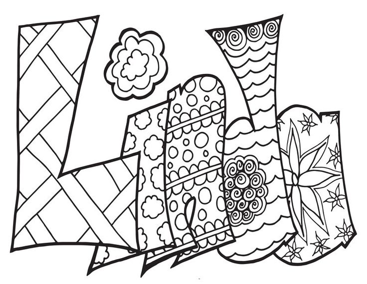 LINDA Classic Stevie Doodle Free Coloring Page Free
