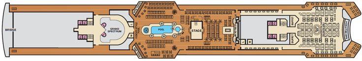 carnival fantasy deck plan | Carnival Fantasy Lido Deck Plan - Deck 10