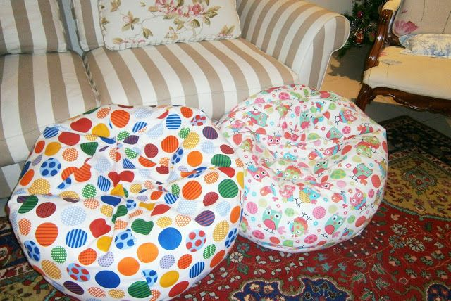 child's bean bag pattern - comprehensive instructions and pattern