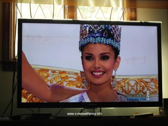 Miss Philippines Megan Young is crowned Miss World 2013 in Indonesia