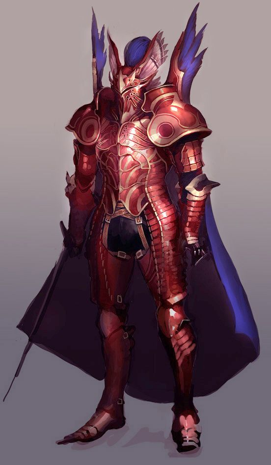 Why is my armor red? It makes the blood spots add texture.
