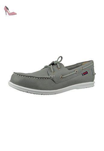 scarpe Sebago B72671 DOCKSIDES MEN fumo de grigio, Sebago Schuhe Herren:46 - Chaussures sebago (*Partner-Link)