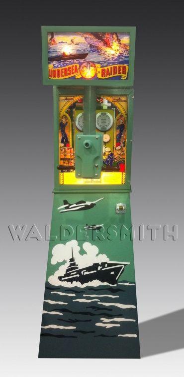 1946 Bally Undersea Raider Arcade Machine