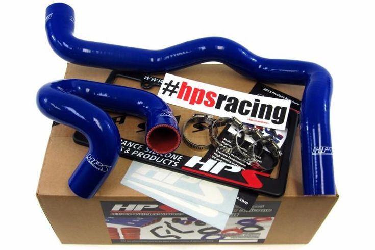 HPS Blue 3-Ply Silicone Radiator Hose for Ford 2013 Focus ST Turbo 2.0L Coolant 13