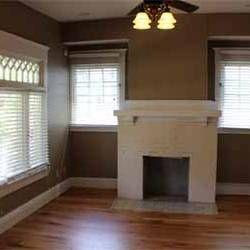 hardwood floors and fireplace, 1720 Market. $1275/month 4/2.5. MLS 791677. Magnolia Properties