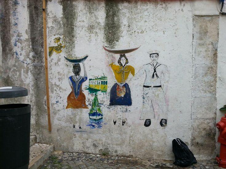 Alfama. Lisbon, Portugal.