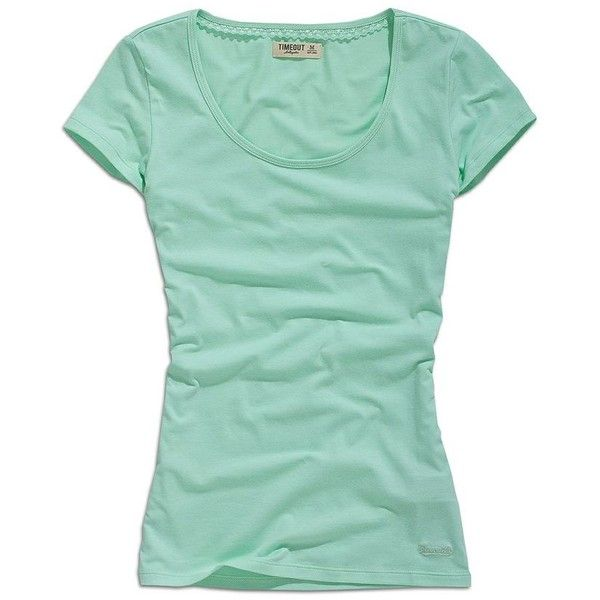 Mint colored t shirt my style pinterest liked on for Mint color t shirt