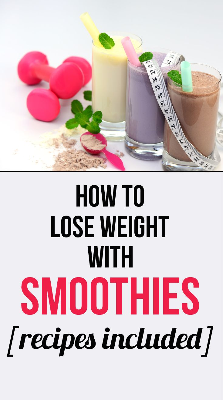 Find out how to lose weight with smoothies. Smoothies offer the perfect combination of fiber and nutrients that will aid you in your weight loss efforts. A smoothie diet is far easier than a juicing diet. #smoothies
