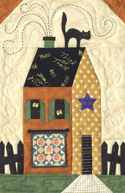 1000 Images About Halloween Quilts On Pinterest Mini