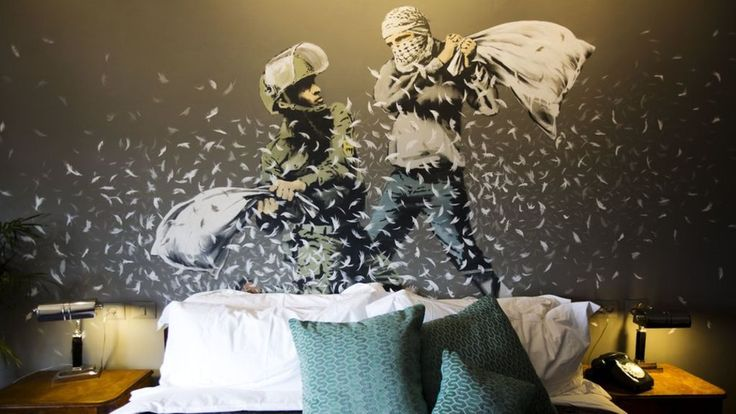 "A hotel which prides itself on the ""worst view in the world"" is set to attract international attention - because it is a collaboration with the famous street artist Banksy."