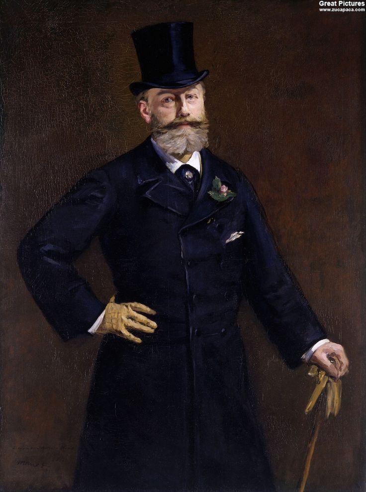 Édouard Manet: Antonin Proust, 1880. Oil on canvas, 129.5 x 95.9 cm. The Toledo Museum of Art, Ohio