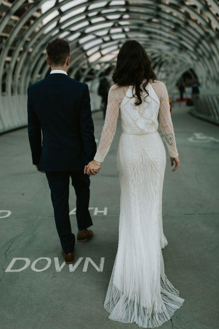 Champagne & Marble Melbourne Wedding - Polka Dot Bride | Photo by Gold & Grit http://goldandgrit.com.au/