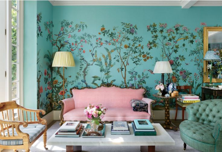 Wallpaper is a design element that, unless carefully selected, can instantly date a room from season to season. So when covering your walls, choose wisely. One option that has withstood the test of…