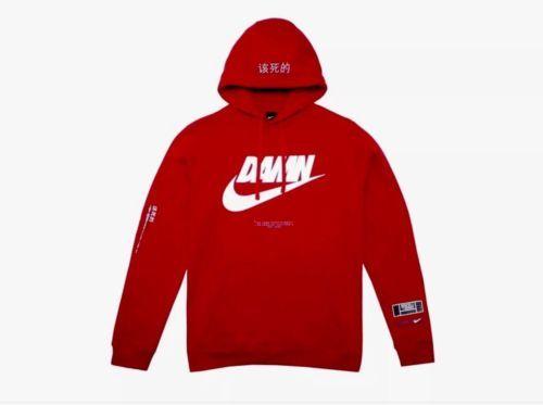 3b2673d4dc2 Nike TDE Red DAMN Hoodie - Medium - Kendrick Lamar Championship Tour (eBay  Link)