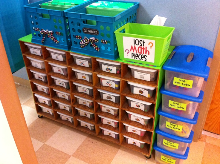 Math Tools- I like the lost pieces box  and group tool kits!