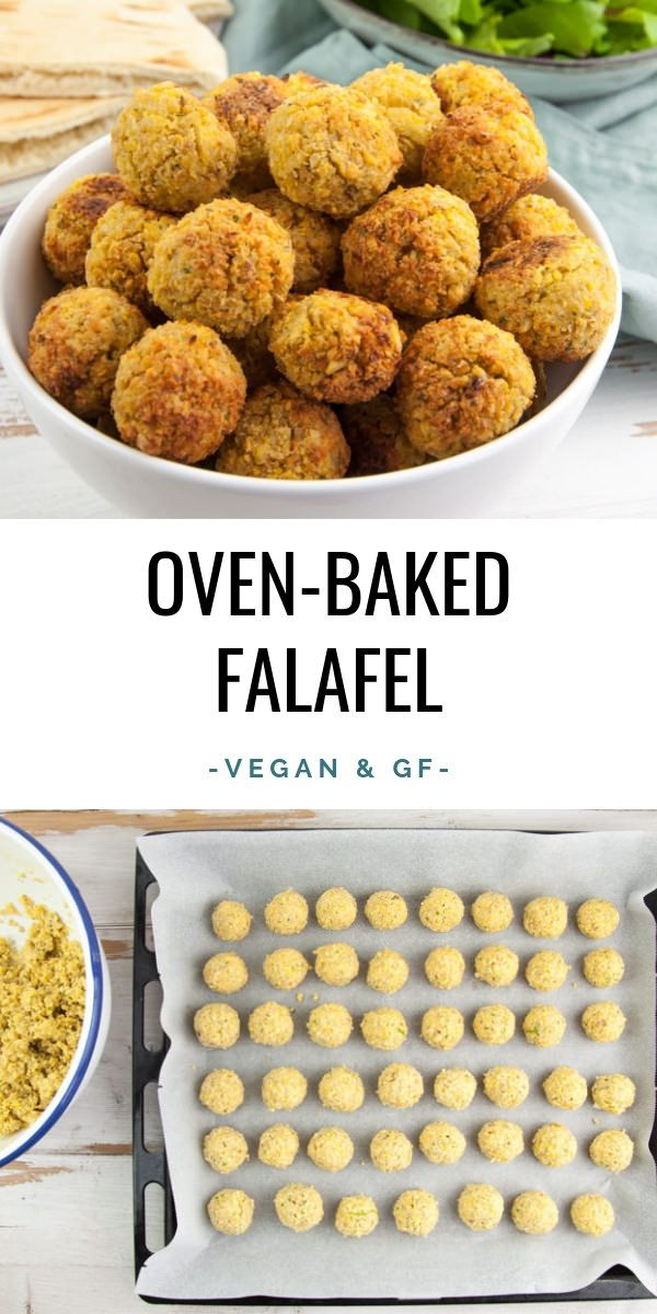 Huge Batch of Oven-Baked Falafel – freezer-friendly! | ElephantasticVega… #veg…