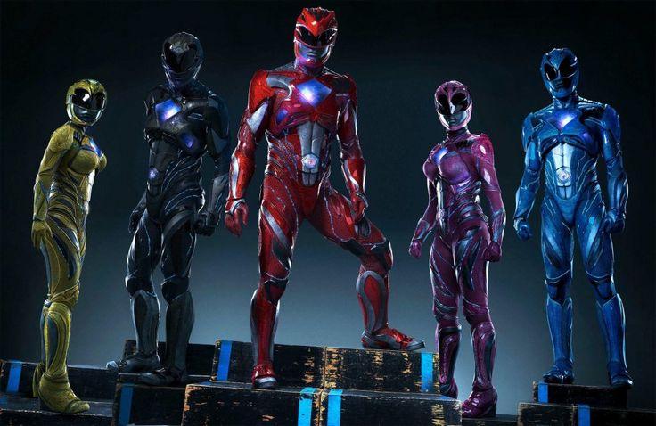 Les Power Rangers  arboreront des costumes d'une nouvelle ère dans le prochain film Power Rangers en 2017 ! #Film #Rangers #Action #Amitié