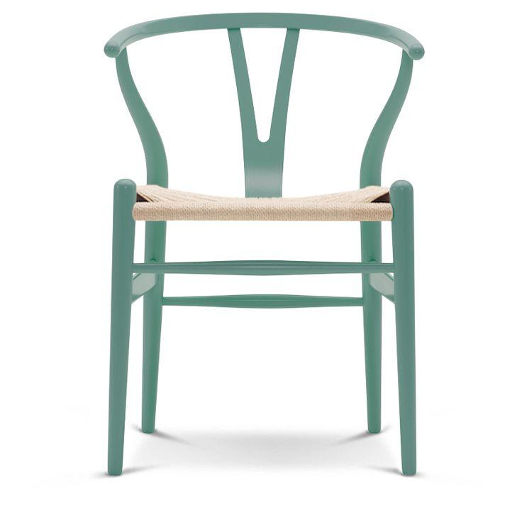Carl Hansen CH24 Coloured Wishbone Chair in petrol Green | Utility Design