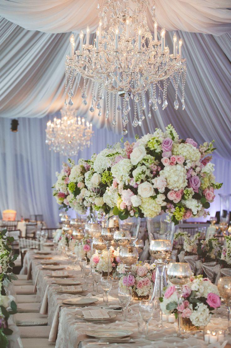 Elegant Spring Wedding Reception Tent