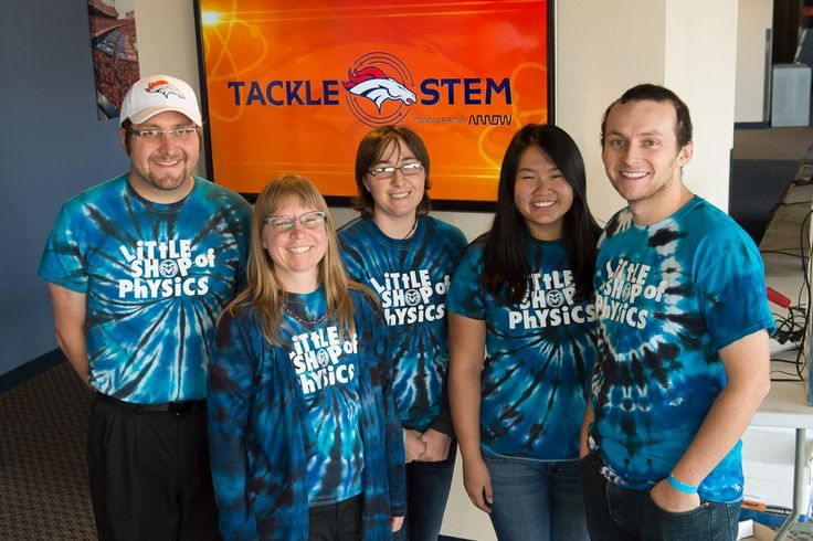 """Arrow Electronics Sponsors """"Girls-Only"""" Tackle STEM Experience for Junior Denver Broncos Cheerleaders at Sports Authority Field at Mile High 
