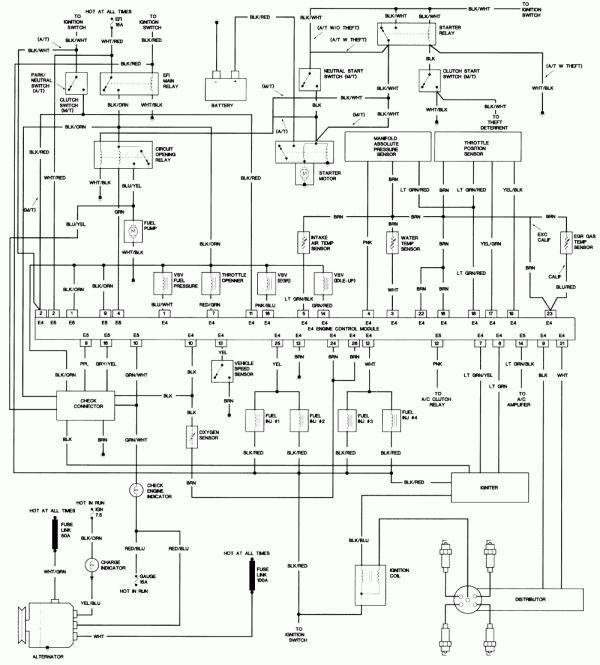 12 Toyota 5a Engine Wiring Diagramtoyota 5a Engine Wiring Diagram Toyota 5a Fe Engine Wiring Diagram Toyota 5a Fe E Toyota Corolla Toyota Electrical Diagram