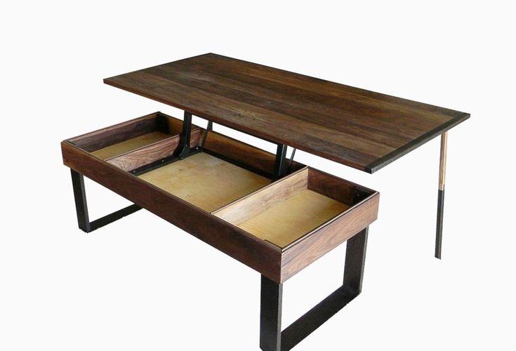 Waverly Lift Top Coffee Table Vintage Walnut
