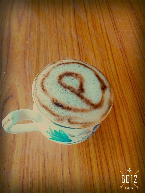 Tried pintrest on cofee