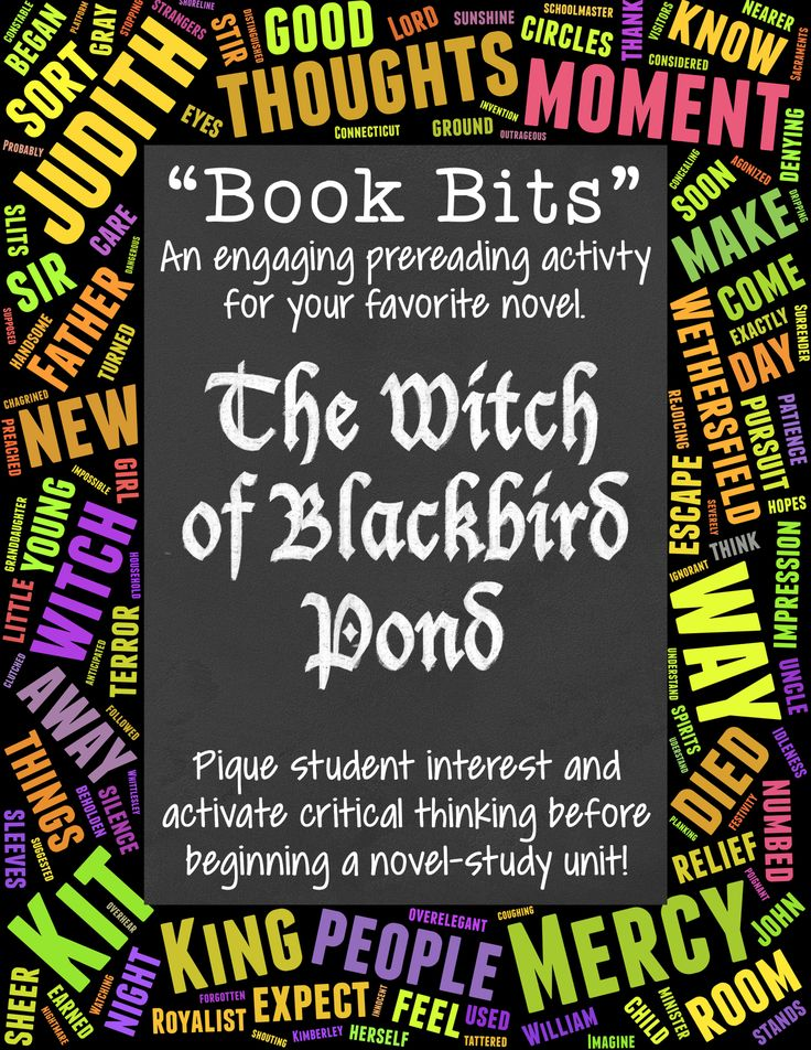 the witch of blackbird pond book report Document read online witch of blackbird pond study guide answers witch of blackbird pond study guide answers - in this site is not the thesame as a solution reference book.