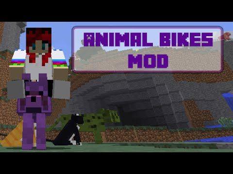 Minecraft - Animal Bikes Mod - Bemutató + Telepítés