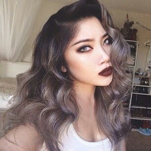 Grey Hair Dye With Dark Roots Famous Hair Dye 2018