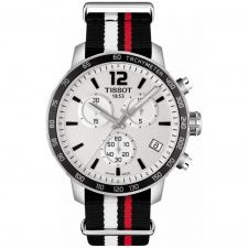 Tissot Gents S/Steel T-Sport Quickster Watch T095.417.17.037.01