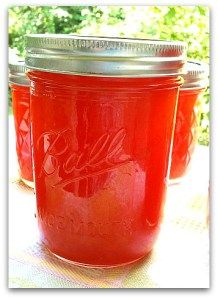 Watermelon Jam Canning Recipe. Made August 23, 2013, very good flavor. One watermelon made 9 half pints of jam and 5 pints of syrup (half the pectin).