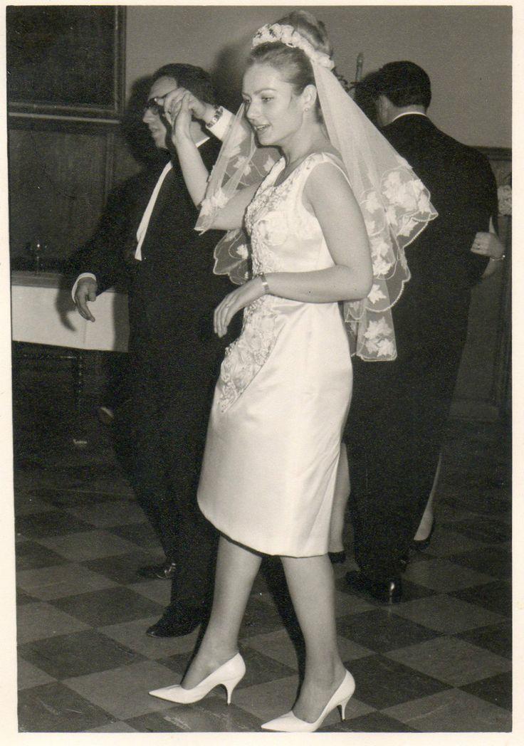 Original 1960s bride.                                                                                                                                                     More