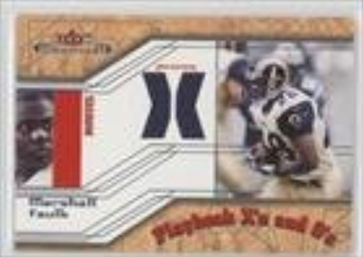 Brought to you by Avarsha.com: <div><div>2002 Fleer Maximum Playbook X's and O's Jersey X's #MAFA - Marshall Faulk</div><ul><li>Sport: Football</li><li>Great for any Marshall Faulk fan</li><li>This is a collectible trading card.</li></ul><div>Sport: Football</div></div>