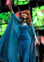 Florence Welch Birth name Florence Mary Leontine Welch Born	28 August 1986 (age 28) Camberwell, England Genres Indie rock, baroque pop, art rock, indie pop, neo soul Occupations Musician, singer, songwriter, arranger Instruments Vocals, drums Years active	2006–present Labels Moshi Moshi, Iamsound, Island, Universal Republic, Republic Associated acts Florence and the Machine, Calvin Harris, A$AP Rocky, Dizzee Rascal, Drake, HAIM,  The xx, The Big Pink, Dev Hynes, The Weeknd  @flo_tweet