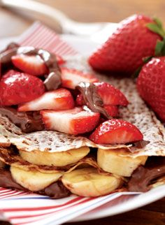 Global Food Truck Recipes | World Market Strawberry Nutella Crepe-France Recipe Buy Crepe Mix from them