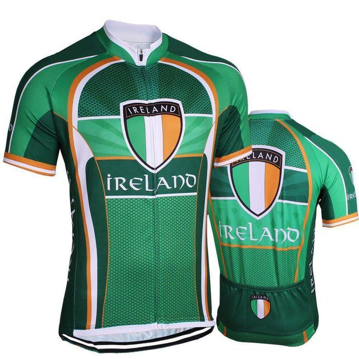 Ireland Flag Pro Cycling Jersey | Freestylecycling.com