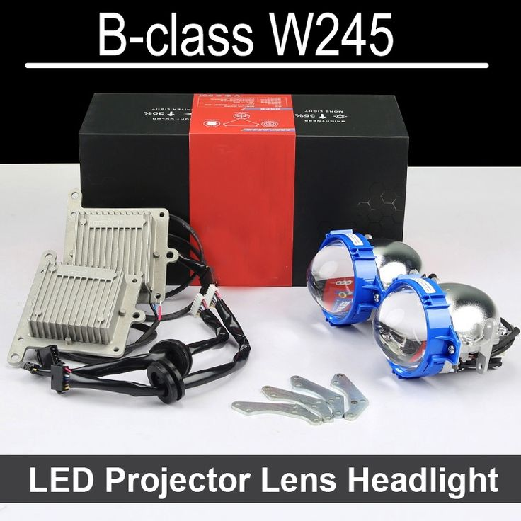 249.99$  Buy here - http://alieem.worldwells.pw/go.php?t=32755753708 - Hi/Low LED Projector lens For Mercedes Benz B class W245 B180 B200 B170 with halogen headlight ONLY Retrofit Upgrade (2006-2011) 249.99$