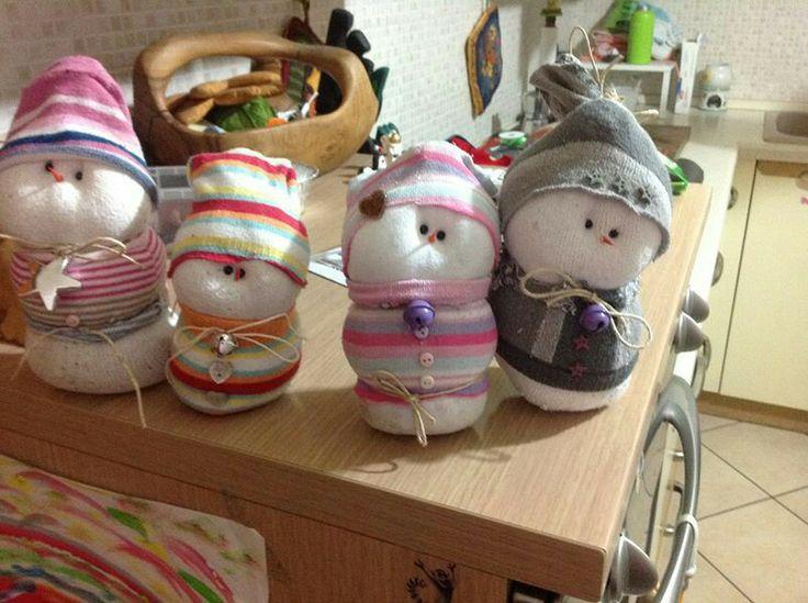Socks snowman