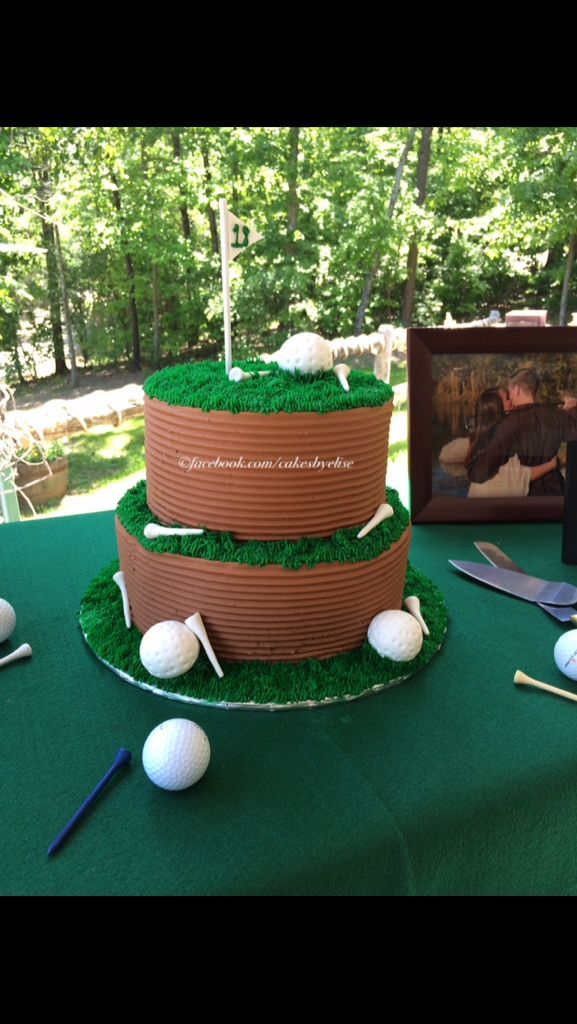 25 Best Ideas About Golf Grooms Cake On Pinterest Golf