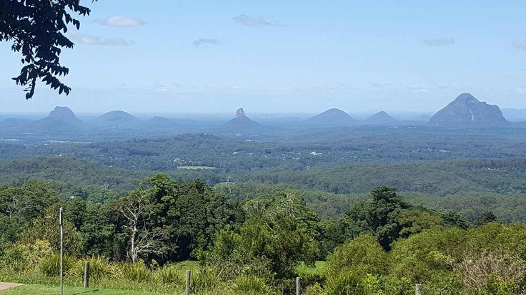 Glass House Mountains. Sunshine Coast Hinterland. Montville. Queensland