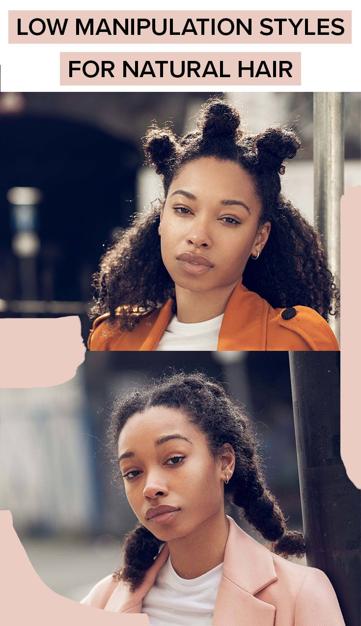 12 Low Manipulation Hairstyles For Natural Hair Protective Hairstyles For Natural Hair Natural Hair Styles Curly Hair Styles Naturally