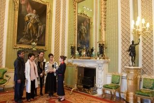 The State Rooms, Buckingham Palace   Royal Collection Trust. State Room tickets available while we're there  end of August through Sept.  Takes 2 to 2.5 hrs to go through the rooms tour